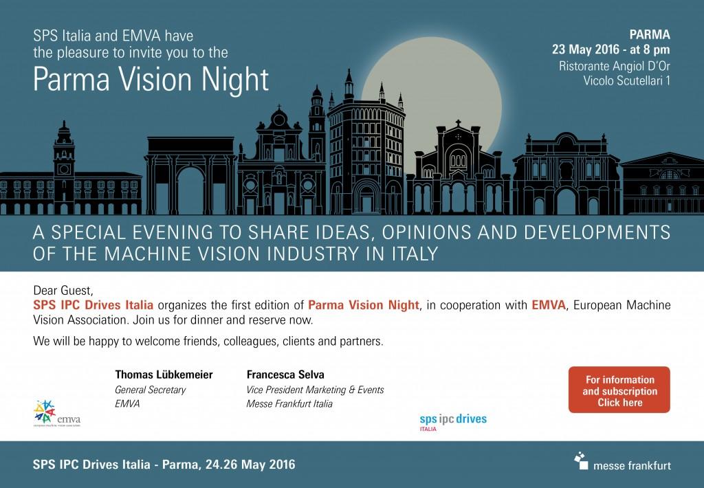VISION NIGHT INVITO INGLESE